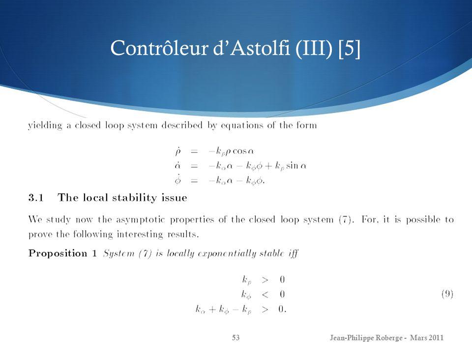 Contrôleur d'Astolfi (III) [5]